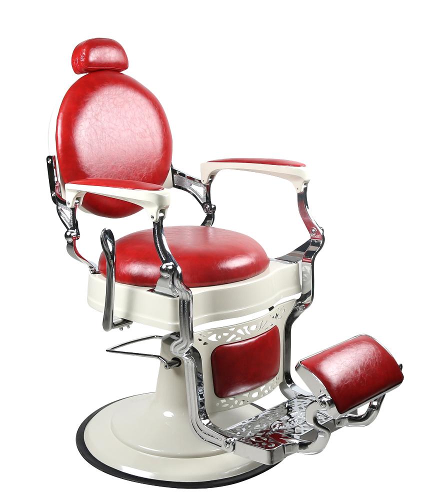 Barber Chair TOM i röd