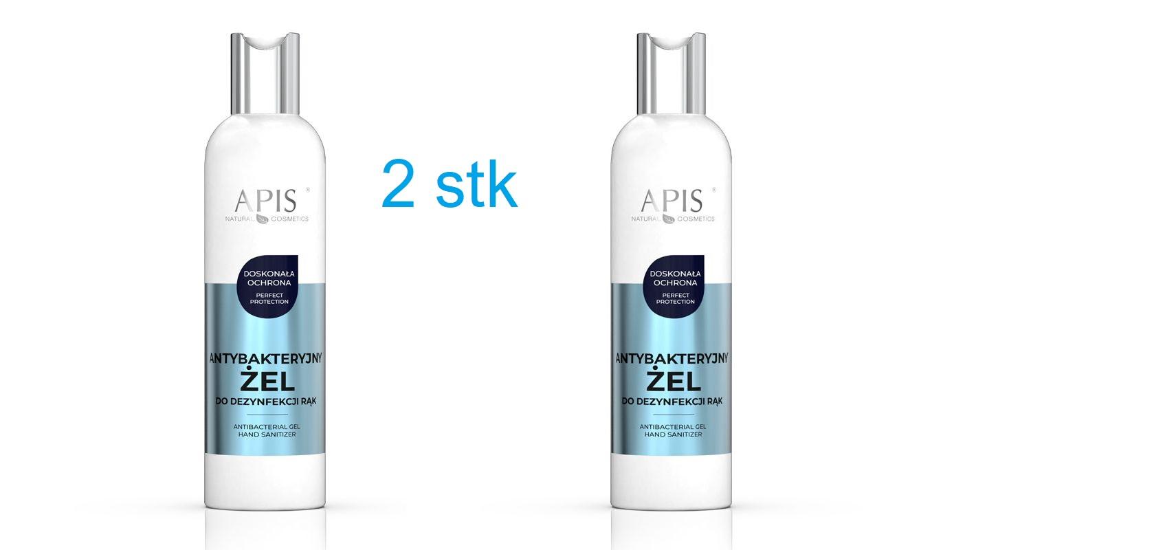 2 x APIS Gel för HUDdesinfektion 600ml