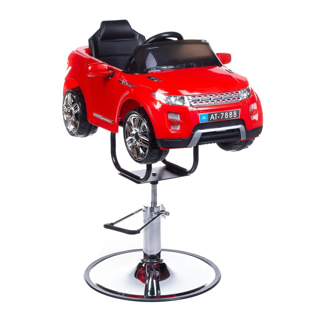 Barnklippstol SUV röd