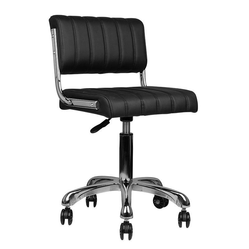 Arbetsstol RINGO i svart höjd 50 - 60cm