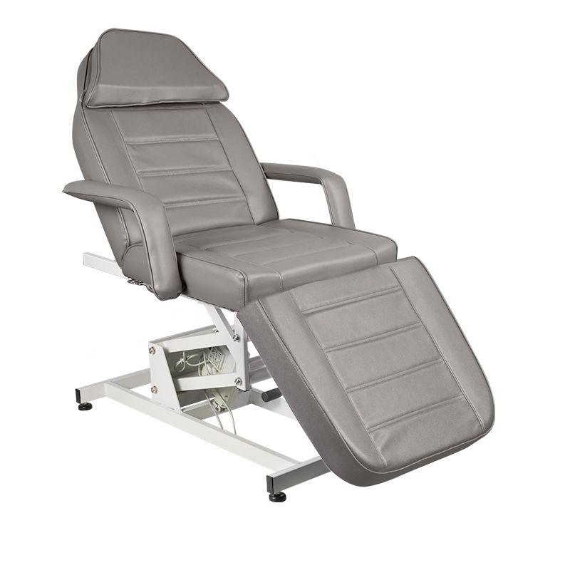 Behandlingsstol med 1 motor i grå