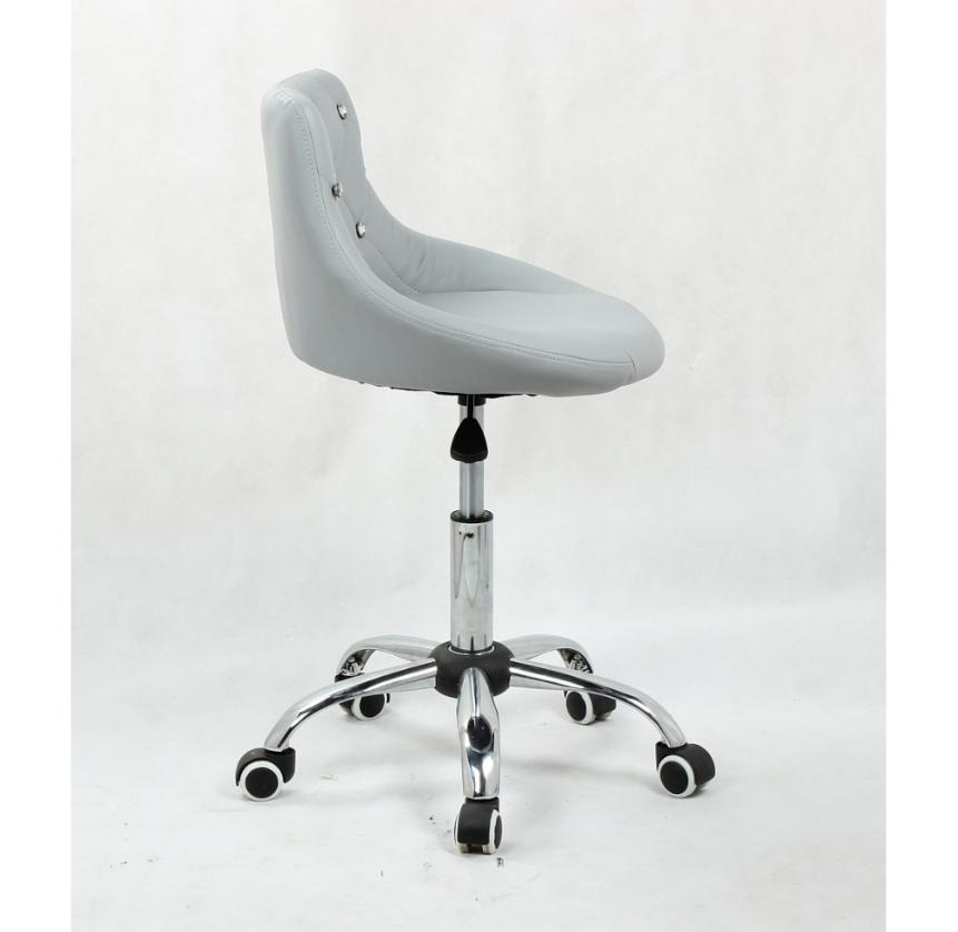 Arbetsstol grå med Stenar Höjden: 40 - 52 cm