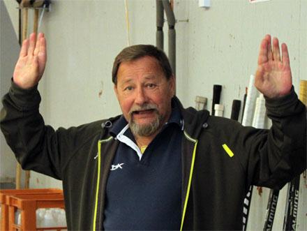 "Lagledaren Janne Bergström vill inte bli ""skjuten"" av kameran"