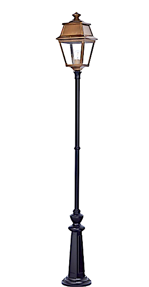 Klassisk utebelysning - Kollektion Avenue 2 - Modell 9,  lyktstolpe - hos  Alegni Interiors Stockholm