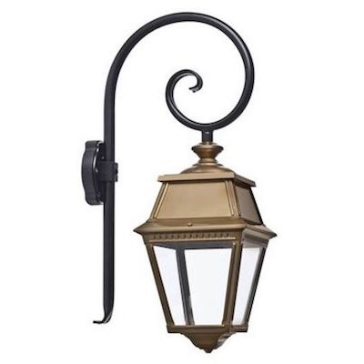 Klassisk utebelysning, utelampor,  utomhusbelysning, lyktlampor i sekelskifte för vägg och fasad