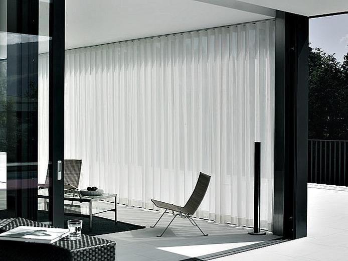 Gardiner stora fönster - Wavegardiner - Alegni Interiors Stockholm