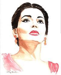 Maria Callas - skönheten själv!