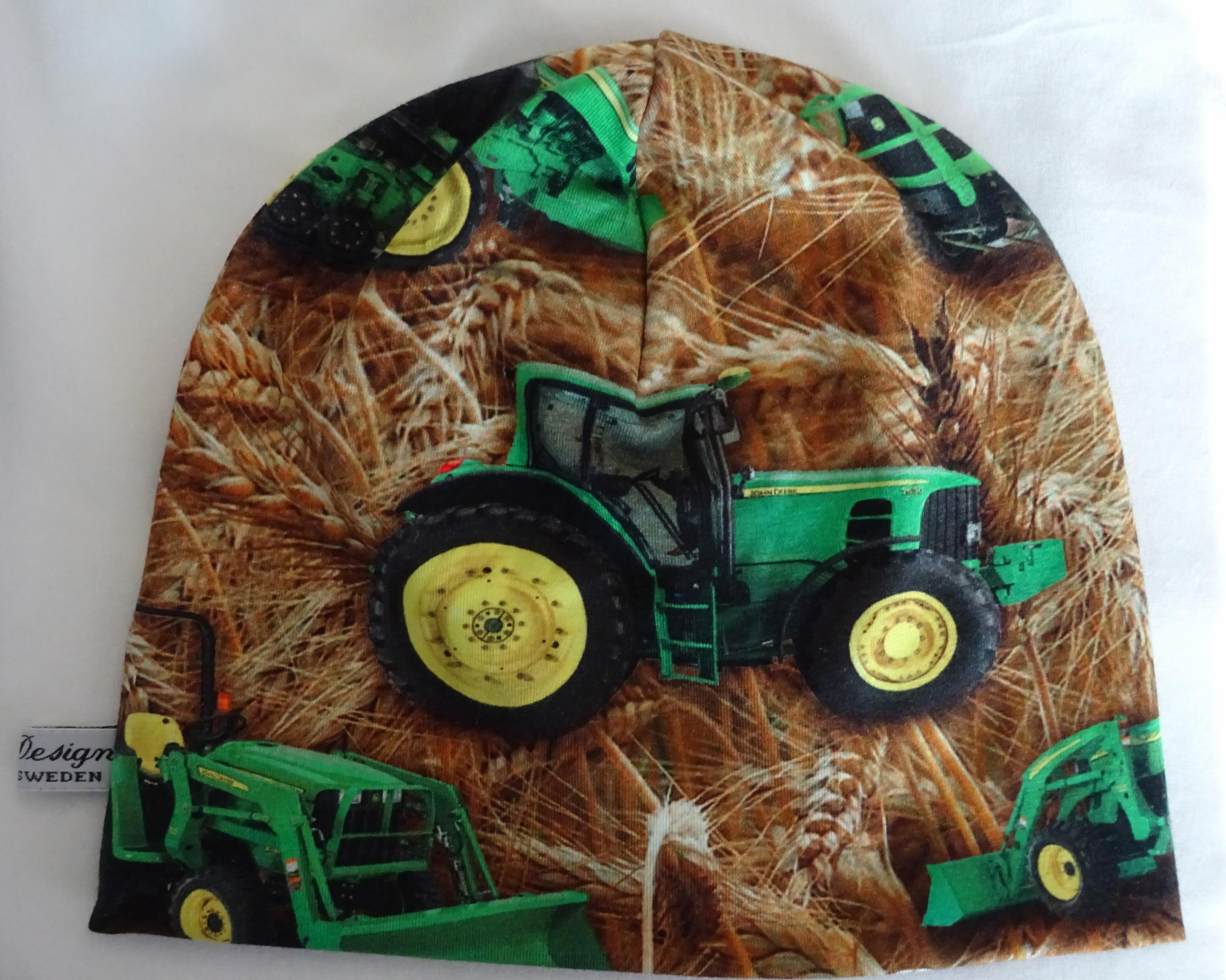 Trikåmössa traktor