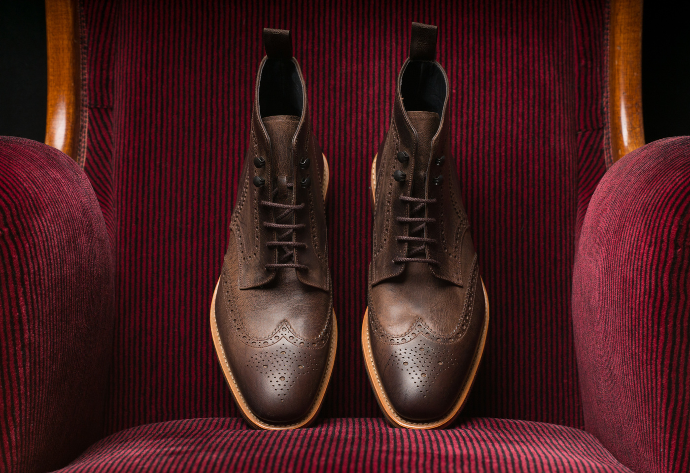 Loake Rimmer Dark Brown