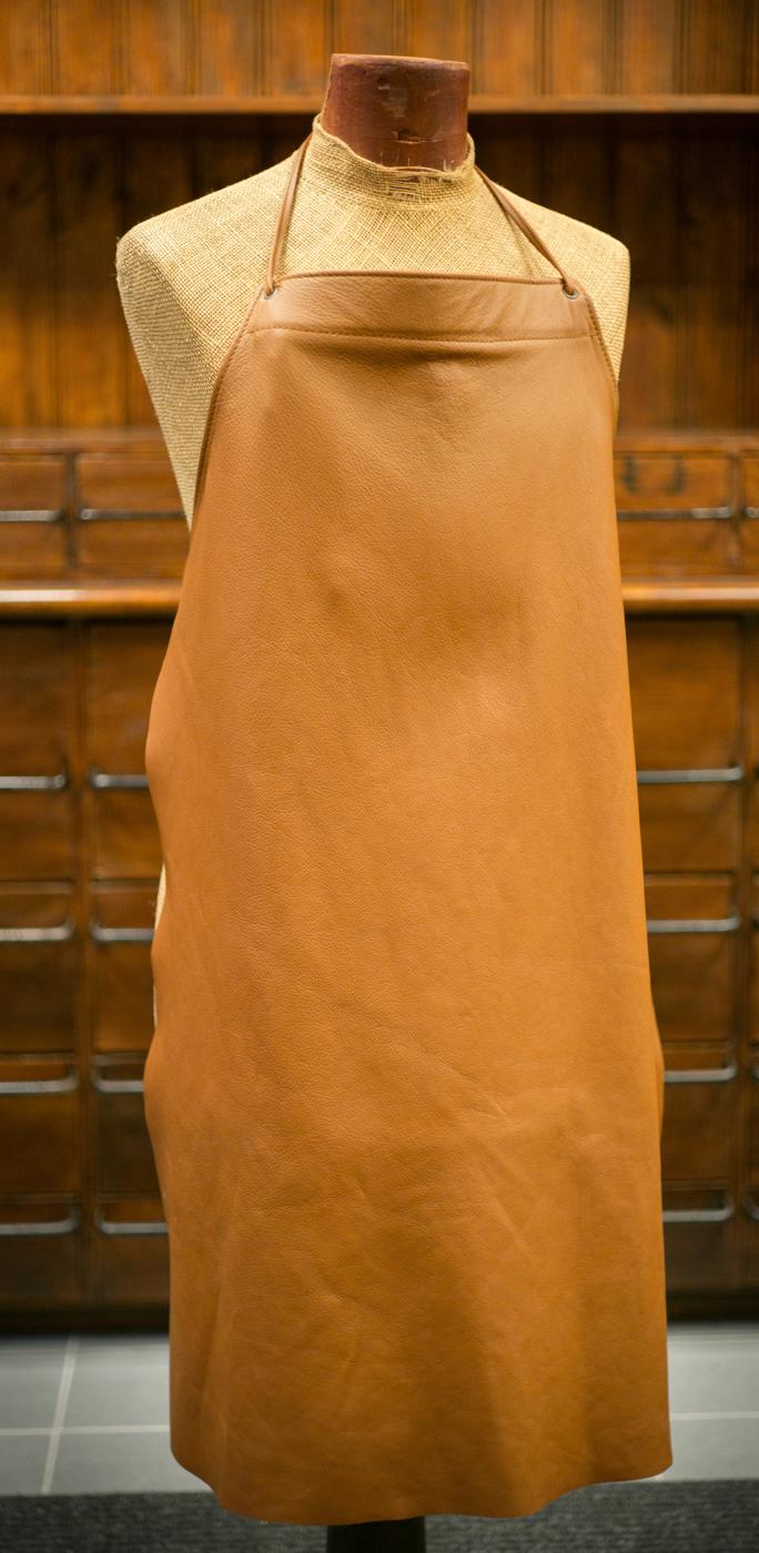 Läderförkläde