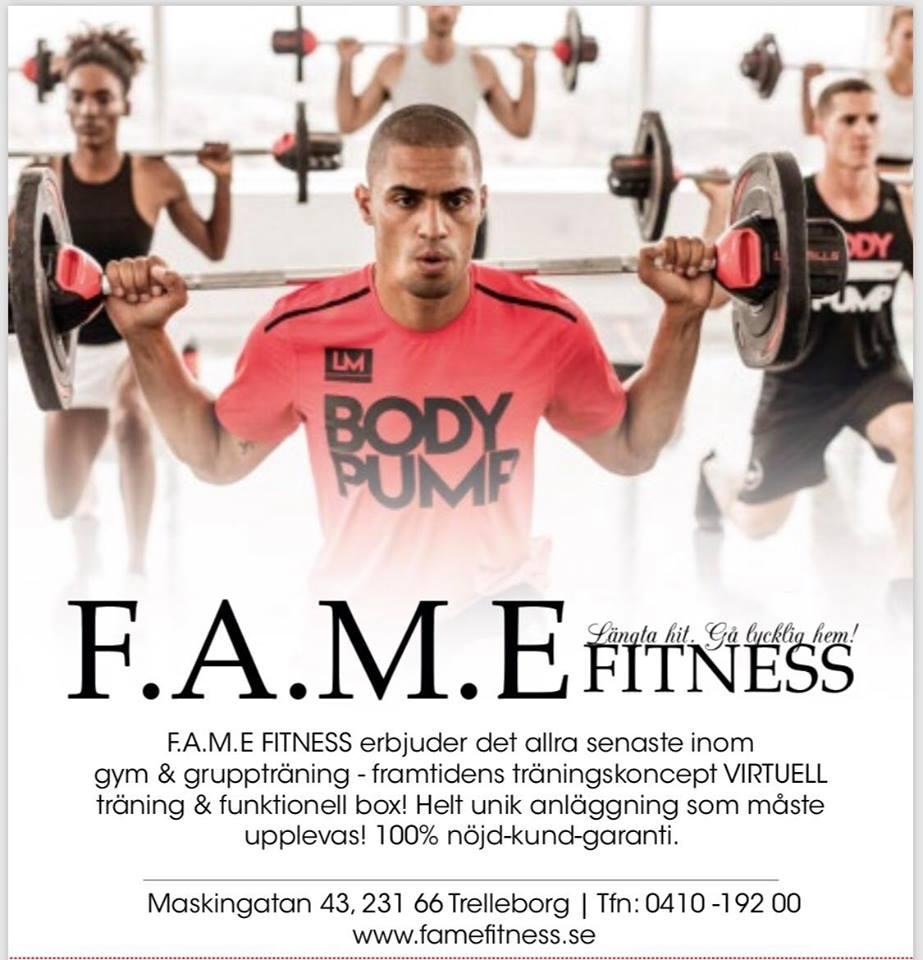 Välkommen till F.A.M.E FITNESS