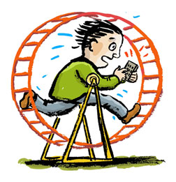 Coaching slipp ekorrhjulet