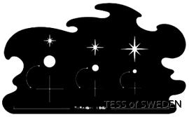 CREATEX STENCILER - STARSTRUCK Createx