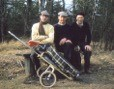 Från vänser: Gösta Arfwedson, Albert senior, och George Svensson