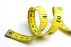 Bilden visar ett måttband som du med fördel kan använda när du använder dig av våra storleksguider