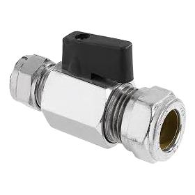 Ballofix ventil 15mm - ventil 15mm klämring