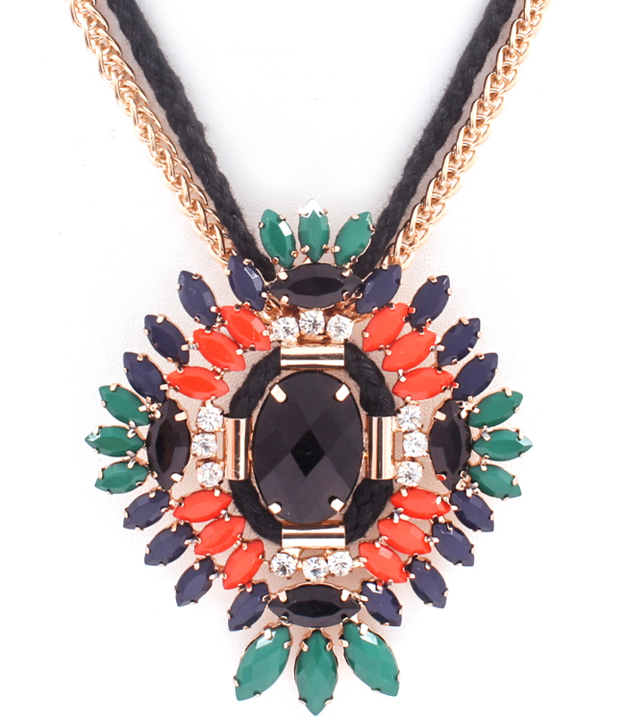 Luxury Navette Necklace