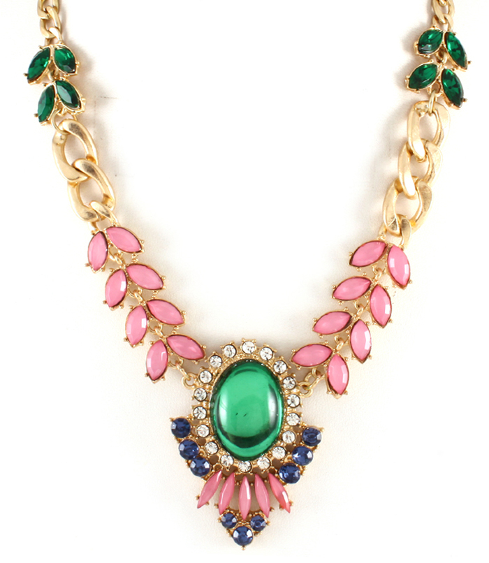 aaa necklace mint pastell