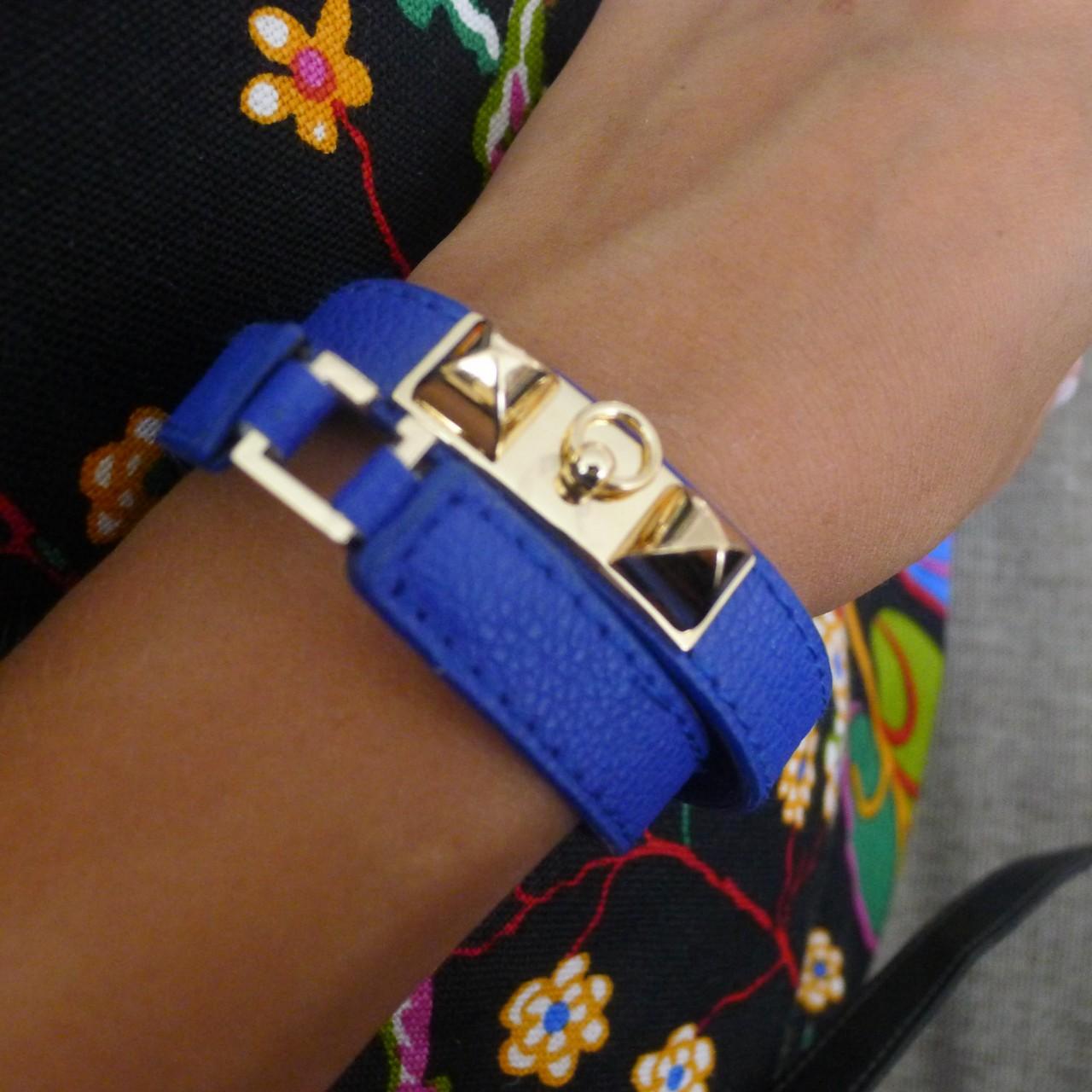 Armband Adore blått/guld