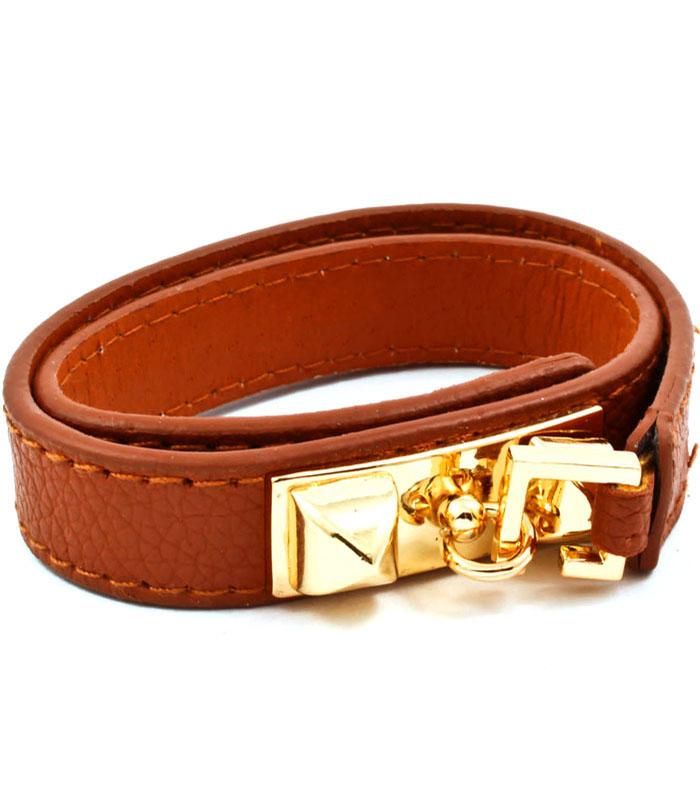 Armband Adore Brun/Guld