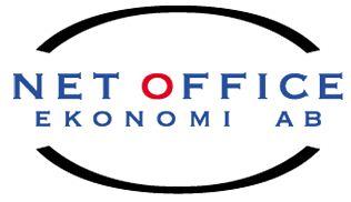 Bild: Net Office Ekonomi ABs företagslogga. Klicka på bilden för att komma till företagets hemsida!