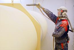 Våt- och pulverlackering - Linde Metallteknik