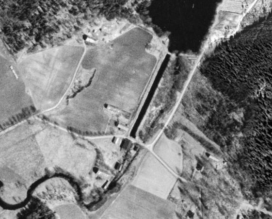 Flygbild ca 1960