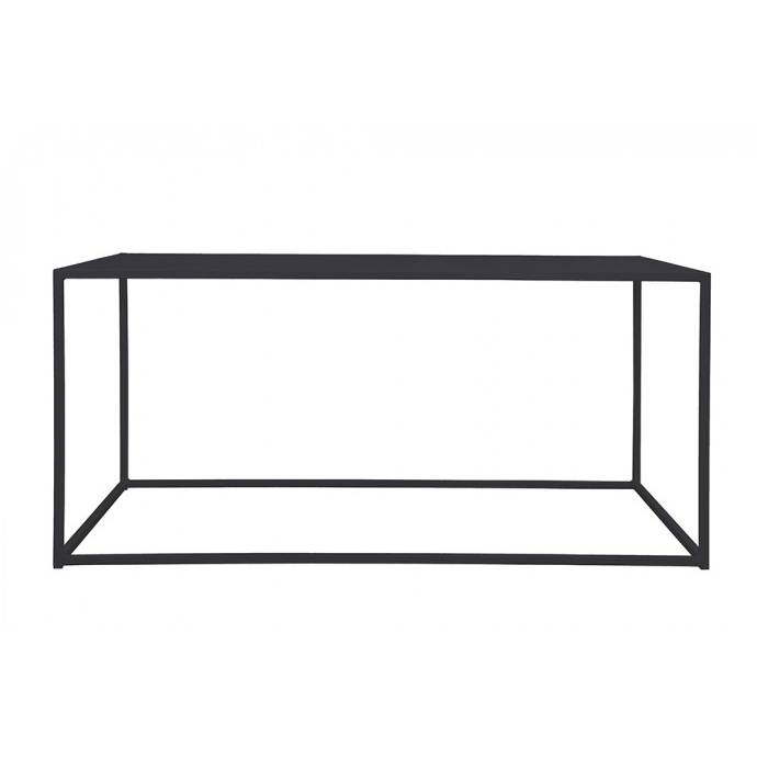 Domo rectangle table Black