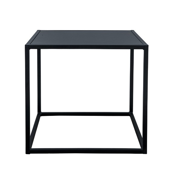 Domo square table Svart