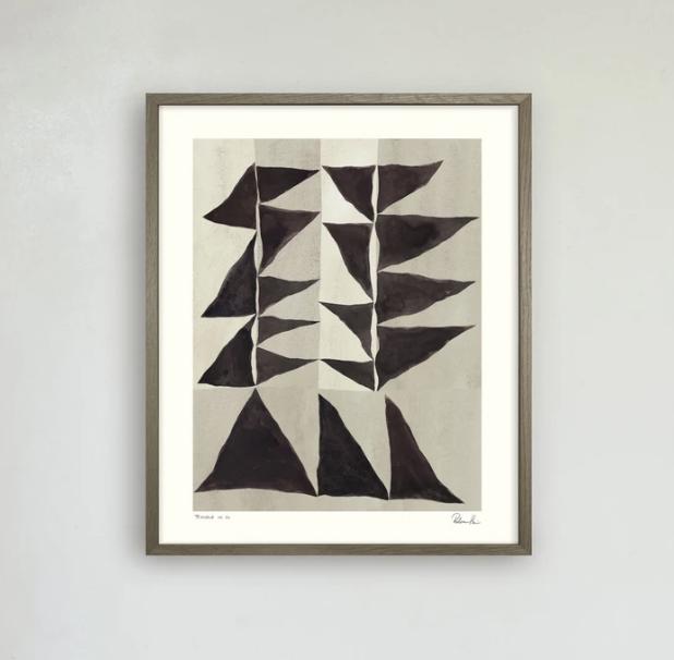 Triangle no 02 med Valnötram