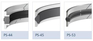 Kompakttätningar PS-44, PS-45, PS-53