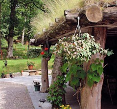 Beautiful places for taking a break on your way to your first accommodation. Here Öströö fårfarm (sheep-farm), in a wonderful environment with restaurant, lamb safaris, handcraft shop etc.