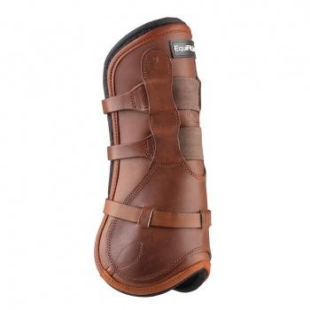 T-Boot Luxe™, Framskydd, Brunt läder, S/M - T-Boot Luxe™, Framskydd, Brunt läder, S/M