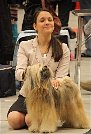 Stolt handler och hund :-)