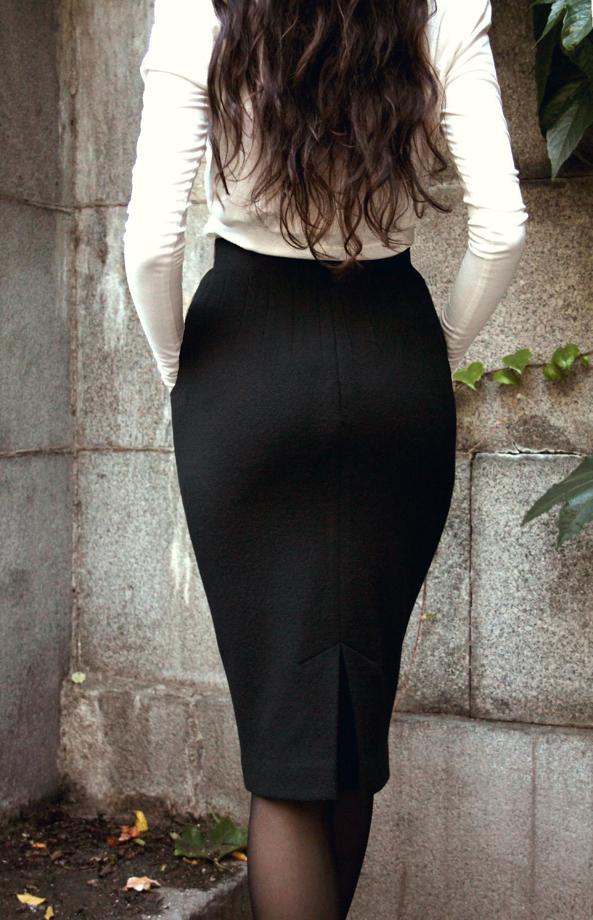 Mary svart bak