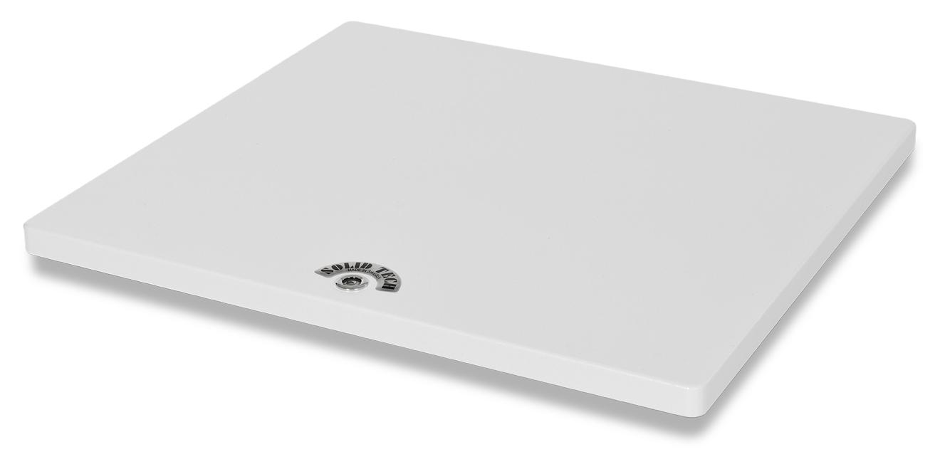 Turntable Shelf Small White