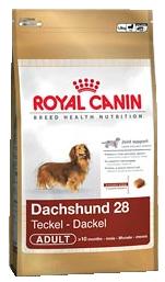 Royal Canin Breed Dachshund 28 Adult - Royal Canin Breed Dachshund 28 Adult - 1,5 kg