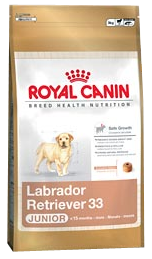Royal Canin Breed Labrador Retriever 33 Junior - Royal Canin Breed Labrador Retriever 33 Junior - 3 kg