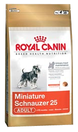 Royal Canin Breed Miniature Schnauzer 25 - Royal Canin Breed Miniature Schnauzer 25 - 3 kg