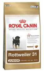 Royal Canin Breed Rottweiler 31 Junior - Royal Canin Breed Rottweiler 31 Junior - 3 kg