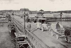Gamla Hisingsbron 1930-talet