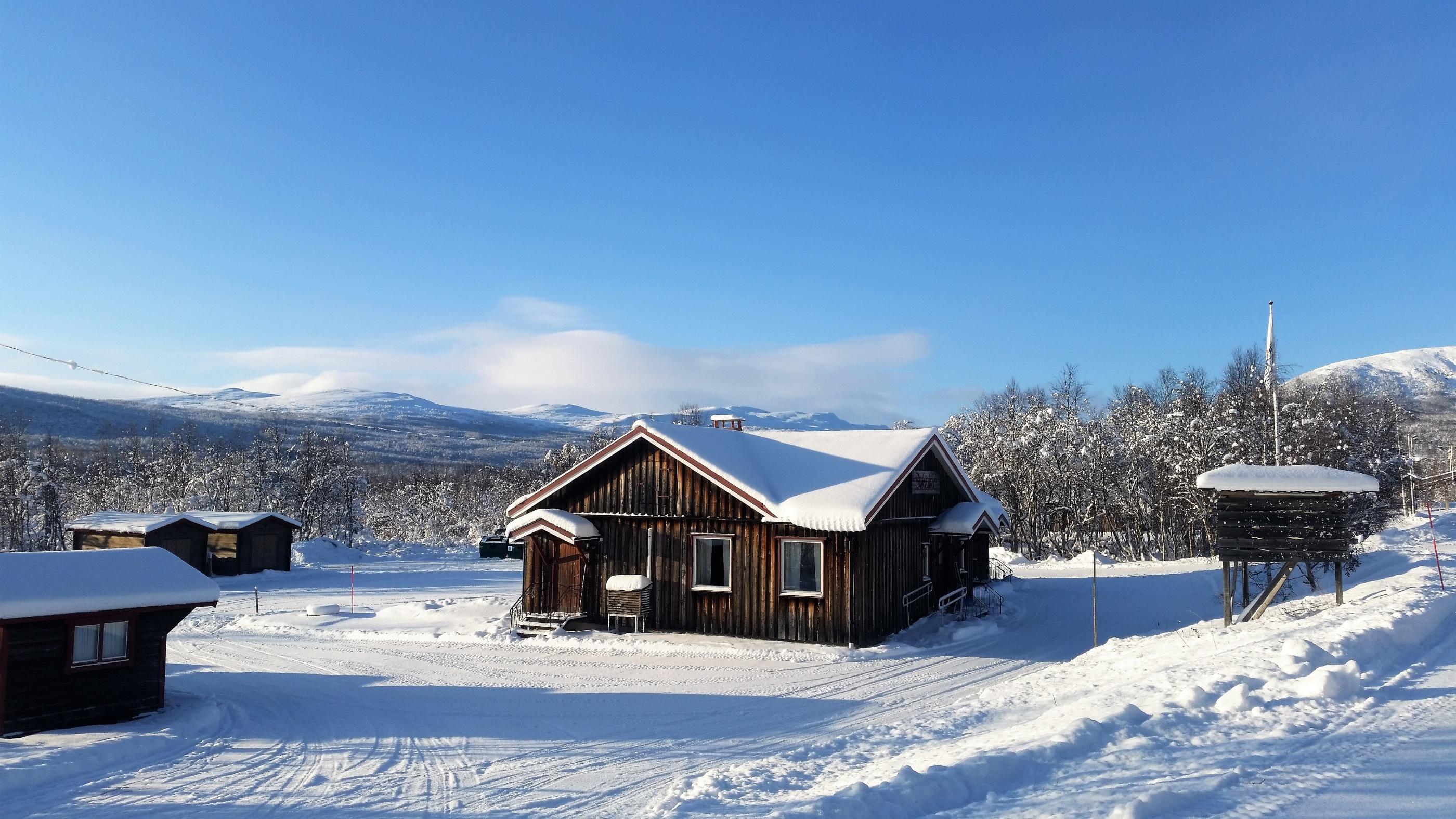 Bygdegården Vinter