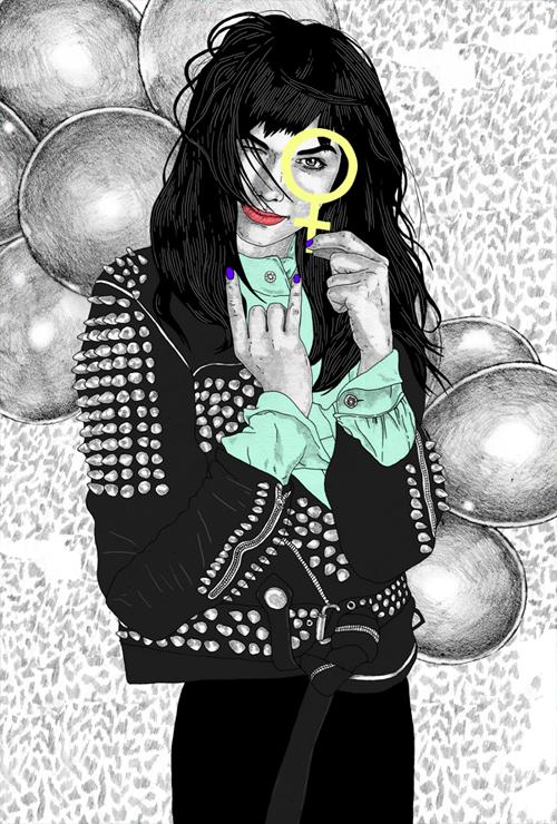 Illustration av Malin Bergström