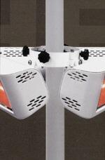 Markis hållare för 3 HELIOSA - Markishållare för 3 Heliosa