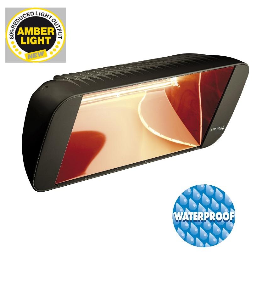 terrassvärmare  Heliosa 66 Amber-Light antracit