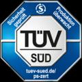 TÜEV - GS - certifierad