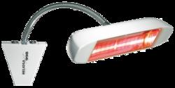 HELIOSA 998 - 1500 Watt i vit IPx5 - HELIOSA 998 - 1500 Watt i vit IPx5