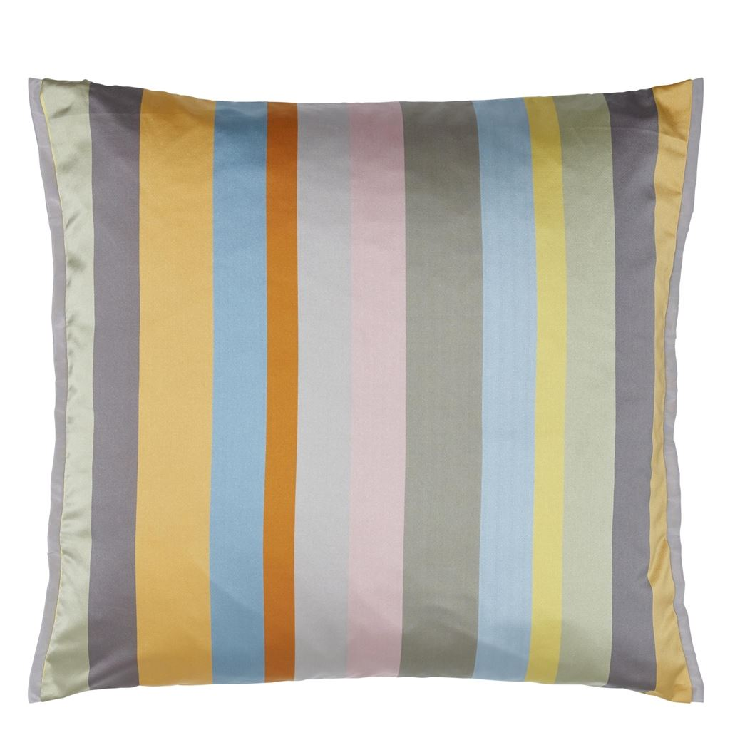 Designers Guild CCDG0881 Tanchoi Saffron Cushion 45 x 45