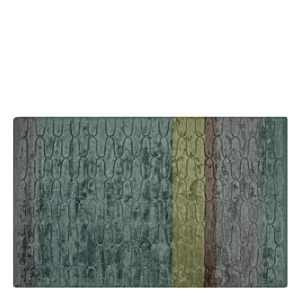 Designers Guild Handtuftad Matta OGEE OCEAN Tre storlekar RUGDG0609-11 (Går att måttbeställa)