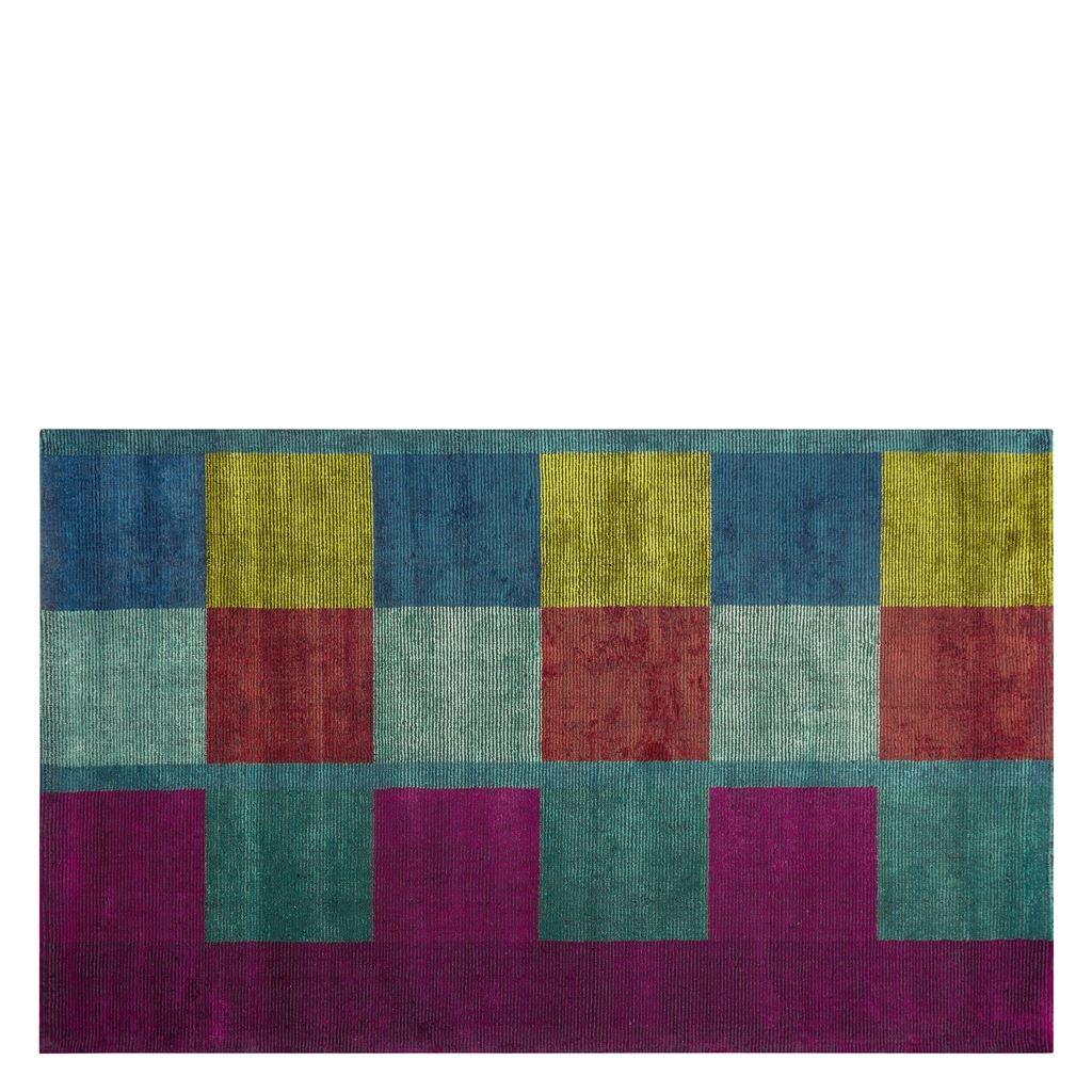 Designers Guild Handtuftad Matta SARANG FUCHSIA Tre storlekar RUGDG0606-08 (Går att måttbeställa)